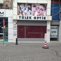 Photo taken at Tülek Optik by Ayse Pinar B. on 5/12/2013