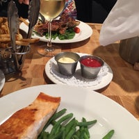 Photo taken at Le Steak Frites St-Paul by Michel S. on 7/9/2016