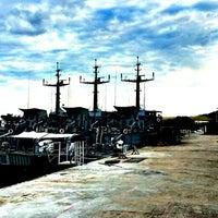 Photo taken at PANGKALAN ARMADA TLDM LUMUT by Aris C. on 11/22/2012