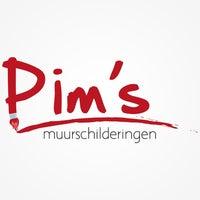 Photo taken at Pim's Muurschilderingen by Pim H. on 3/19/2013
