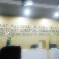 Photo taken at Kementerian Hukum dan HAM RI by Diah N. on 1/13/2015