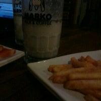 Photo taken at Marko Milk and Coffee by Yunita W. on 3/20/2013