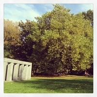 Photo taken at Middelheimmuseum by Victoria H. on 10/23/2013
