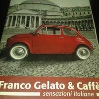 Photo taken at Franco Gelato & caffè by MajdouLine Ë. on 2/15/2014
