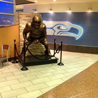Photo taken at Seattle Seahawks 12 Club by Raffy I. on 4/2/2013