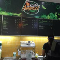 Photo taken at Café Amazon by Vincent B. on 2/8/2016