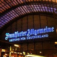Photo taken at Frankfurt (Main) Hauptbahnhof by Clara M. on 1/9/2013