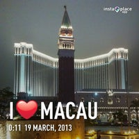 Photo taken at Sheraton Macao Hotel, Cotai Central by Angus L. on 3/18/2013