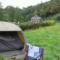 Photo taken at Camping Le vieux moulin by Stephany D. on 9/11/2016