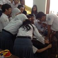 Photo taken at SMA Negeri 6 Bandung by Nanaa M. on 11/11/2013