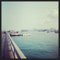 Photo taken at Bali Hai Pier by gxh* on 2/9/2013