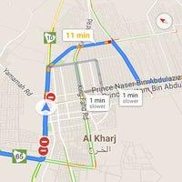 Photo taken at تقاطع طريق الملك فهد مع شارع الستين by Amani R. on 12/14/2015