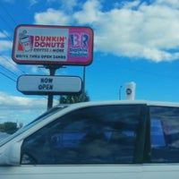 Photo taken at Dunkin Donuts by Timothy H. on 10/16/2014