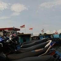 Photo taken at Pelabuhan speedboat kampung baru by Andree B. on 7/8/2014