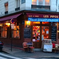 Photo taken at Les Pipos by celia a. on 1/18/2014