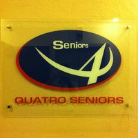 Photo taken at Quatro Seniors by Luiz Felipe R. on 3/18/2013