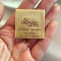 Снимок сделан в Coombe Abbey Hotel пользователем Mj G. 9/22/2013