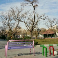 Photo taken at Jaami Park | پارک جامی by Vahab K. on 1/9/2016