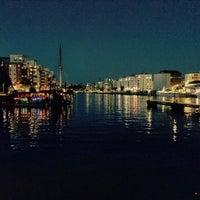 Photo taken at Hammarby Kaj 18 by Johan W. on 8/20/2015