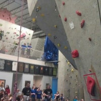 Photo taken at Ibex Climbing Gym by Lindsey M. on 5/11/2013