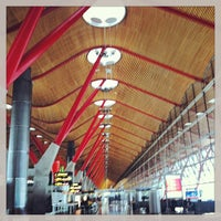 Photo taken at Terminal 4 by Marta F. on 4/28/2013