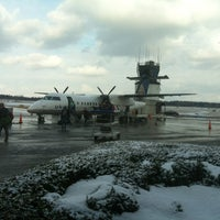 Photo taken at Ithaca Tompkins Regional Airport (ITH) by Power R. on 2/24/2013