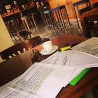Photo taken at Llibreria Cafè Context by Mun B. on 7/17/2013