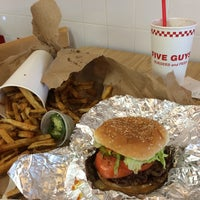 Photo taken at Five Guys by Bonnie C. on 7/6/2014