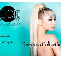 Photo taken at Essence of India Hair Boutique by Essence of India (EOI) H. on 4/28/2013