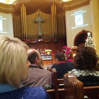 Photo taken at First United Methodist Church by Billy S. on 12/24/2012