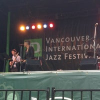 Photo taken at Vancouver International Jazz Festival by Luciano V. on 6/24/2013