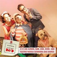 Photo taken at Teatro Nossa Senhora das Dores by Sergio S. on 6/3/2016