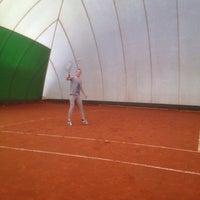 Photo taken at Sannazzaro tennis ENI club by Anna G. on 10/29/2014