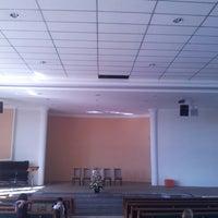 Photo taken at Igreja Adventista do CAHo by Mauro S. on 3/2/2013