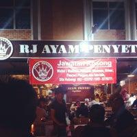Photo taken at RJ Ayam Penyet Kopitiam by Ayu J. on 4/28/2013