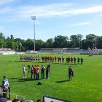 "Photo taken at Stadionul Național de Rugby ""Arcul de Triumf"" by Cernat C. on 5/12/2013"