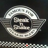 Photo taken at Steak 'n Shake by Eric L. on 3/27/2013