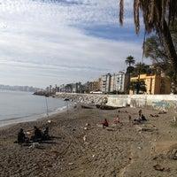 1/12/2014 tarihinde Christian H.ziyaretçi tarafından Playa de Baños del Carmen'de çekilen fotoğraf