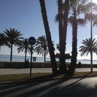 Foto tomada en Playa de La Farola por Christian H. el 1/12/2014