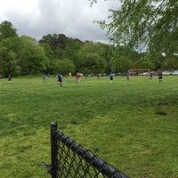 Photo taken at Preston Soccer Fields by Jessica L. on 4/26/2015