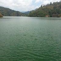 Photo taken at Represa Proyecto Hidroelectrico Pirrís by Dani L. on 3/9/2014