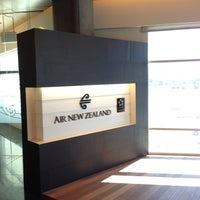 Photo taken at Air New Zealand Koru Lounge by Lester G. on 11/21/2012