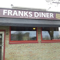 Photo taken at Frank's Diner by Janet B. on 5/11/2013