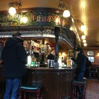 Photo taken at Fitzroy Tavern by Christopher F. on 3/2/2013