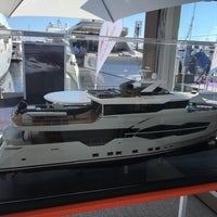 Photo taken at Cannes International Boat & Yacht Show by Ferhatti⚓️ on 9/8/2016