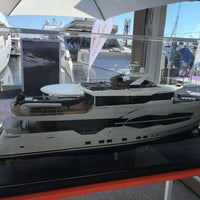 Photo taken at Cannes International Boat & Yacht Show by Ferhatti⚓️ on 9/7/2016