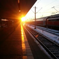 Photo taken at Mannheim Hauptbahnhof by Christian D. on 12/8/2012