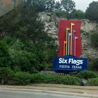 Photo taken at Six Flags Fiesta Texas by Evette N. on 7/27/2013