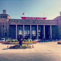 Photo taken at Ankara Station by Cem K. on 7/24/2013