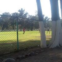 Photo taken at Unidad Deportiva Miguel Aleman Valdez by Beto JuvCel H. on 4/5/2013